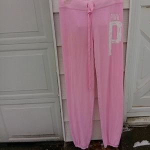 VS PINK lightweight sweats! Cute!